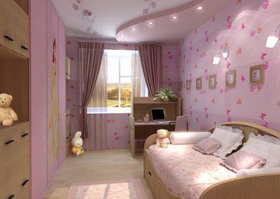 Ремонт детской комнаты (10)