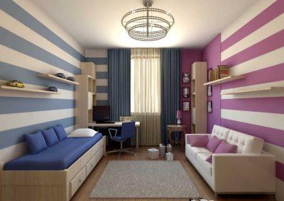 Ремонт детской комнаты (12)