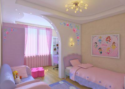 Ремонт детской комнаты (16)