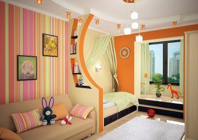 Ремонт детской комнаты (5)