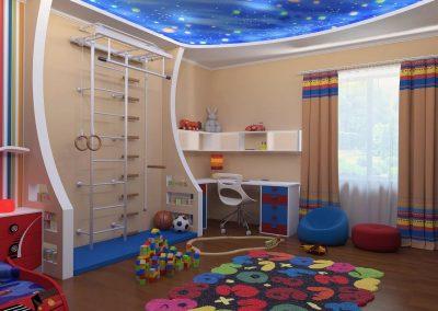 Ремонт детской комнаты (9)